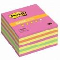 Блок-кубик Post-it куб 2028-NP 76х76 неон розовый 450л.