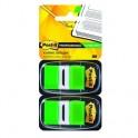 Клейкие закладки пласт. 1цв.по 100л. 25мм зелен Post-it '680-GN2