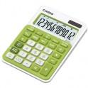 Калькулятор CASIO MS-20NC-GN, зеленый, 12 разр