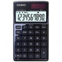 Калькулятор CASIO бухг. SL-1000TW-BK 10 разряд.,черн