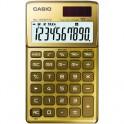 Калькулятор CASIO бухг. SL-1000TW-GD-S-EH 10 разряд., золото