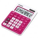 Калькулятор Casio MS-20NCRD, красный, 12 разр