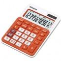 Калькулятор Casio MS-20NCRG, оранжев, 12 разр