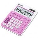 Калькулятор настольный Casio MS-20NC-PK, розовый