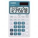 Калькулятор настольный Casio SL-300NC-BU-S-EH, 8 разр, синий