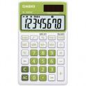 Калькулятор настольный Casio SL-300NC-GN-S-EH, 8 разр, зеленый