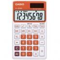 Калькулятор настольный Casio SL-300NC-RG-S-EH, 8 разр, оранжевый