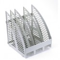 Вертикальный накопитель 4 отдел. 240мм серый '1С56