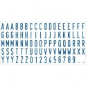 Касса букв цифр и симв. лат. буквы 5,8 мм TypeSetCL Colop