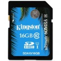 Карта памяти Kingston SDHC 16GB Class 10 UHS-I Ultimate(SDA10/16GB)