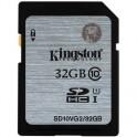 Карта памяти Kingston SDHC 32 Гб Class 10 UHS-I (SD10VG2/32 Гб)