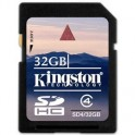 Карта памяти Kingston SDHC 32GB Class 4(SD4/32GB)