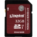 Карта памяти Kingston SDHC 32GB UHS-I U-3(SDA3/32GB)