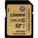 Карта памяти Kingston SDXC 128GB Class 10 UHS-I Ultimate(SDA10/128GB)