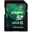 Карта памяти Kingston SDXC 64GB Class 10 UHS-I(SDX10V/64GB)
