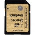 Карта памяти Kingston SDXC 64GB Class10 UHS-I Ultim(SDA10/64GB)