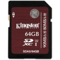 Карта памяти Kingston SDXC 64GB UHS-I U-3(SDA3/64GB)