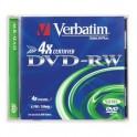 Носители информации Verbatim DVD-RW 4,7Gb 4х Jewel/1 43285