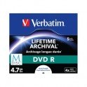 Носители информации Verbatim M-Disc DVD R 5 Pack Jewel Case 43821