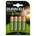 Аккумулятор DURACELL AA/HR6-4BL 1300mAh бл/4