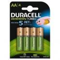 Аккумулятор DURACELL AA/HR6-4BL 2400/2500 mAh бл/4