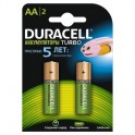 Аккумулятор Duracell HR6-2BL 2400/2500mAh предзаряженные (2/20)