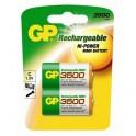 Аккумулятор GP 3500 mAh C NiMH бл/2 GP350CHC-2CR2