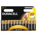 Батарея DURACELL АА/LR6-12BL BASIC бл/12