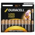 Батарея DURACELL АА/LR6-18BL BASIC бл/18