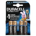 Батарея DURACELL АА/LR6-4BL TURBO Max бл/4
