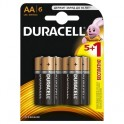 Батарея DURACELL АА/LR6-6BL BASIC 5шт+1 бесплатно бл/6