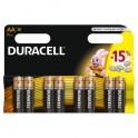 Батарея DURACELL АА/LR6-8BL BASIC бл/8