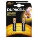 Батарея DURACELL ААA/LR03-2BL BASIC бл/2