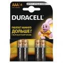 Батарея DURACELL ААA/LR03-4BL BASIC бл/4