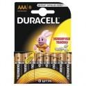 Батарея DURACELL ААA/LR03-8BL BASIC бл/8