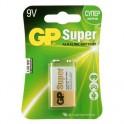 Батарея GP Super 6LR61/Крона 9V/1604A алкалин. бл/1 GP1604A-5CR1