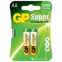 Батарея GP Super AAA/LR03/24A алкалин. бл/2 GP24A-CR2
