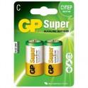 Батарея GP Super C/LR14/14A алкалин. бл/2