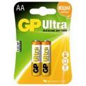 Батарея GP Ultra AA/LR6/15AU алкалин. бл/2