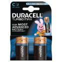 Элементы питания DURACELL TurboMax Батарейка С 1.5V LR14 2шт
