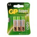 Элементы питания GP Super AА, 6 шт/бл. GP15A-2CR6