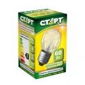 Электрич.лампа СТАРТ шарик/прозрачная 60W E27