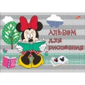 Альбом для рисования 20л Клей А4 D3500/2-EAC твин УФ Minnie Mouse