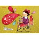 Альбом для рисования 30л,склейка,А4,Юная Модница,06166