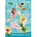 Бумага цветная 10л,10цв,А4,Disney,Феи 25427