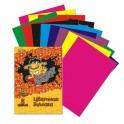 Бумага цветная №1School,Puzzle,16л,8цв,офсет,65гр.