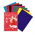 Бумага цветная №1School,Strawberry,8л,А4,8цв, 80гр