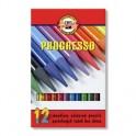 Карандаши цветные 12цв 3-гран Koh-I-Noor Progresso 8756