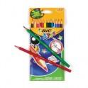 Карандаши цветные 12цв 6-гран BIC Evolution 829029