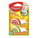 Ластик Maped EgroFun 119710 фигурный, 2шт/блист рис. и цвет ассорти